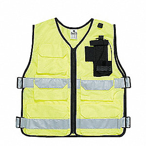 Hi Vis Vest,Unrated,Universal,Lime
