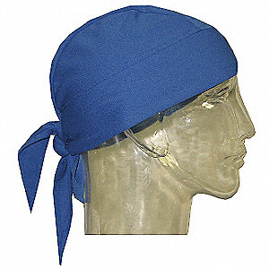 Cooling Hat, Polyester Mesh Outer with HyperKewl Fabric Inner, Blue, Universal,1 EA