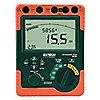 Megómetro Operador por Batería, LCD Retroiluminada con Gráfico de Barras, Rango de Resistencia al Aislamiento: 0 a 6, 0 a 60, 0 a 600M Ohms, 0 a 6, 0 a 60G Ohms