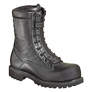 Men's EMS/Wildland, Size 7, Footwear Width: M, Footwear Closure Type: Lace In Zipper