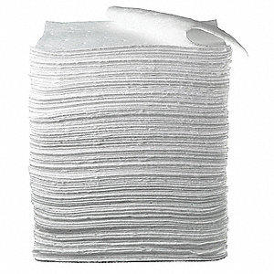 Absorbent Pads,17 In. W,19 In. L,PK100