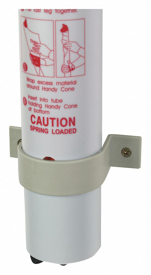 Clip,  Legend 31 in Clip for Handy Cone,  31 in Height,  For Use With 31 in Handy Cone Caution Sign