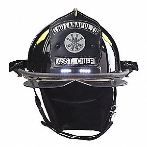 Fire Helmet with TrakLite