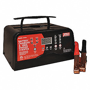 BATTERY CHARGER,100 A,AUTOMATIC,6/12 V