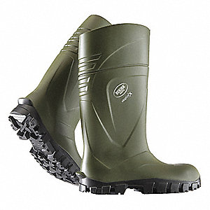 BOOT,MEN,GREEN,11 SZ,POLYURETHANE,15IN H
