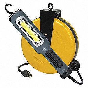 Alert led retractable work light reel182 ga cord reels with hand led retractable work light reel publicscrutiny Gallery