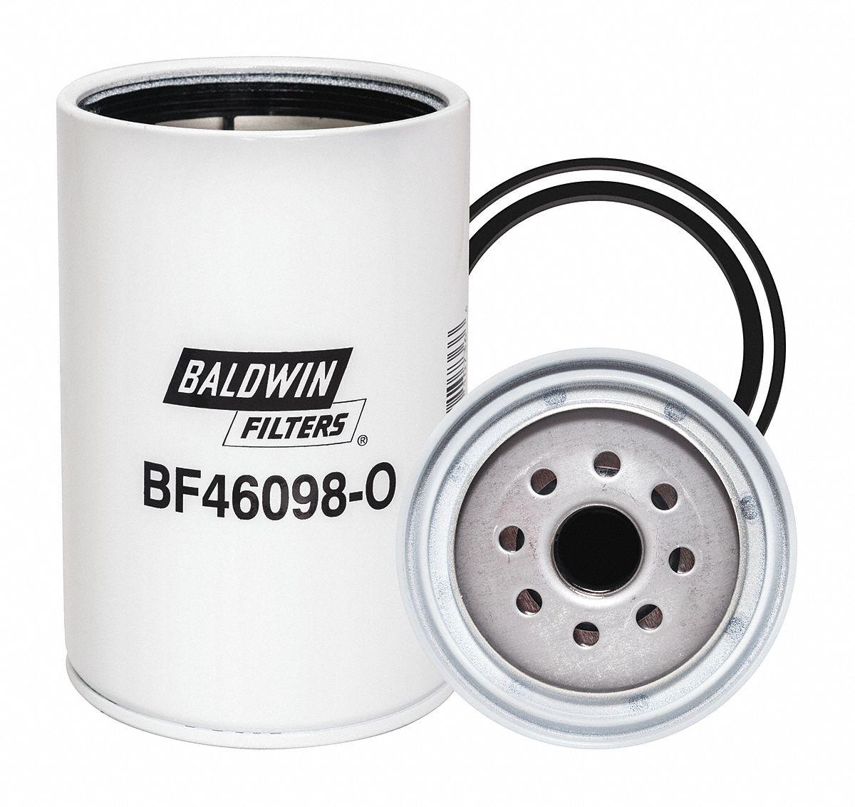 Baldwin Filters Fuel Filter Spin On Design 439v16 Bf46098 Alliance Water Separator O Grainger