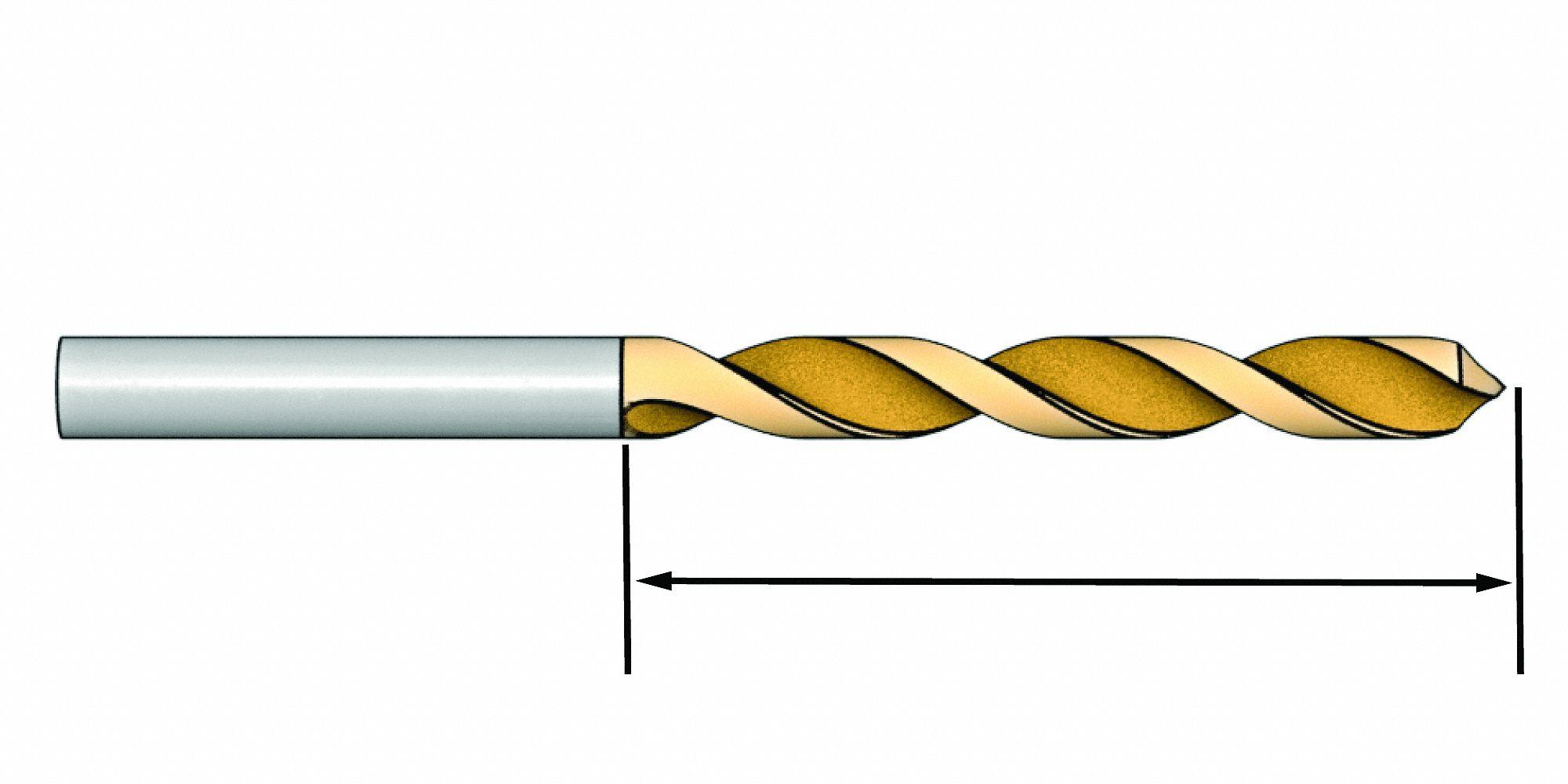 """Carbide Jobber Length Drill Size I .272/"""""""