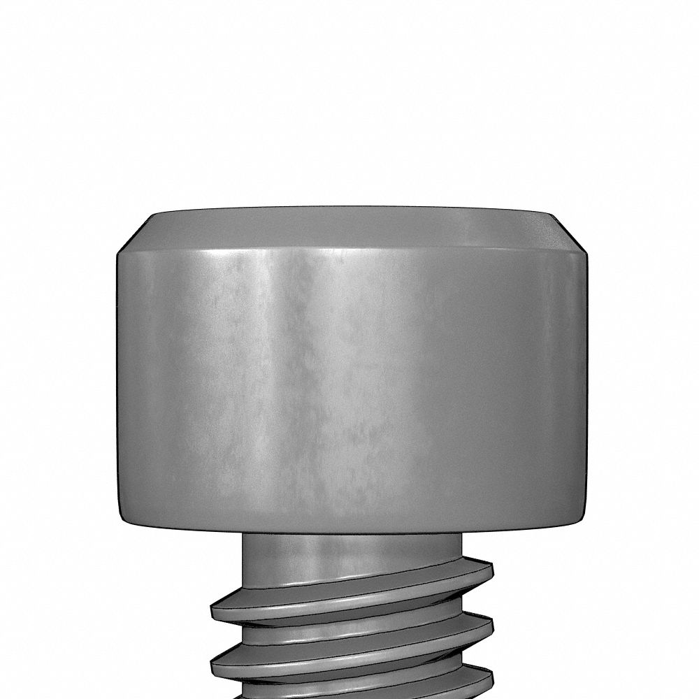 FC042-632X2932X38-00030 Slotted Drive Captive Panel Screws Knurled Head Style 1 Stainless Steel Ships Free in USA by Aspen Fasteners 30pcs Cone Point #6-32X29//32