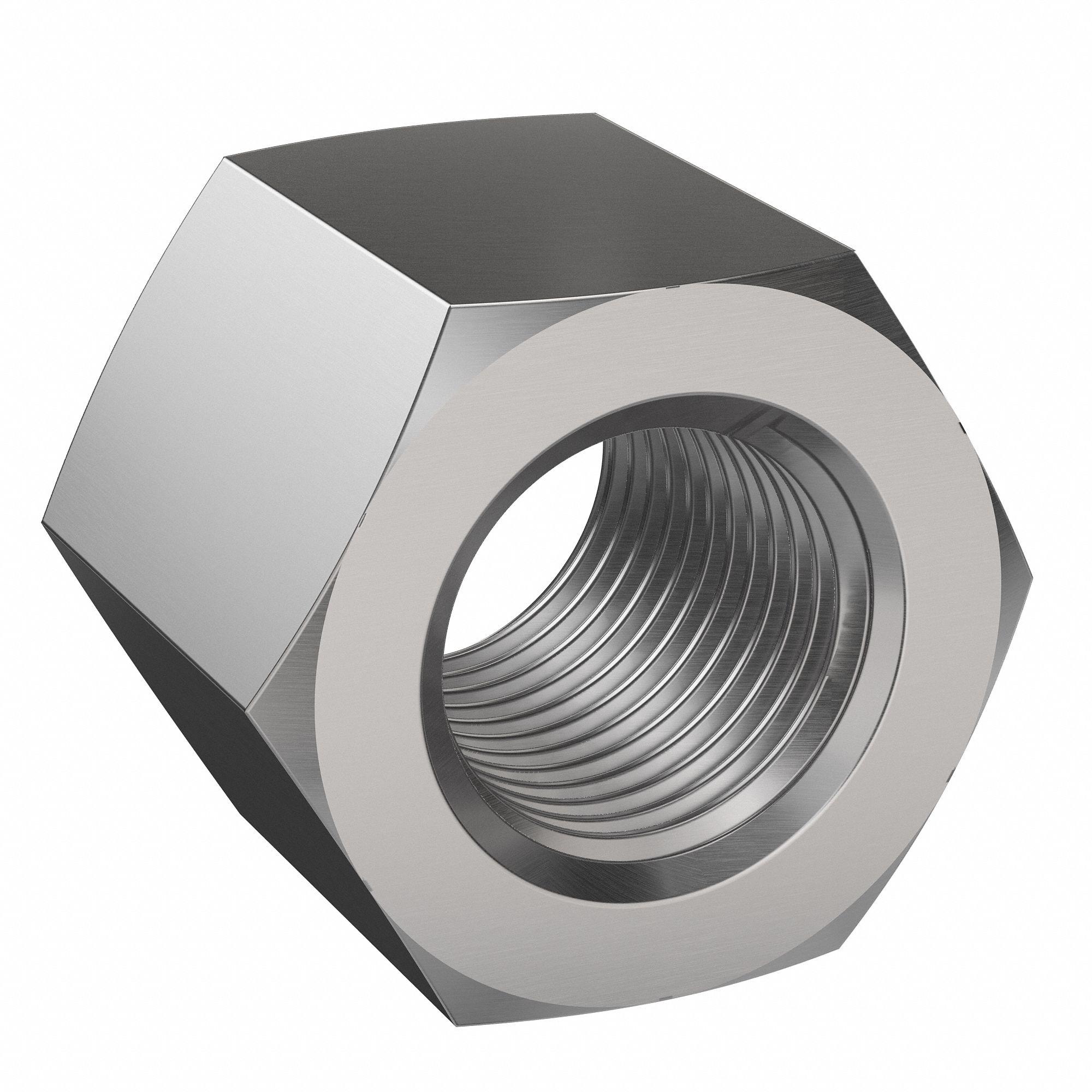 10 1//4-20 NE Nylon Insert Hex Lock Nuts SAE Steel w Black Phosphate /& Oil