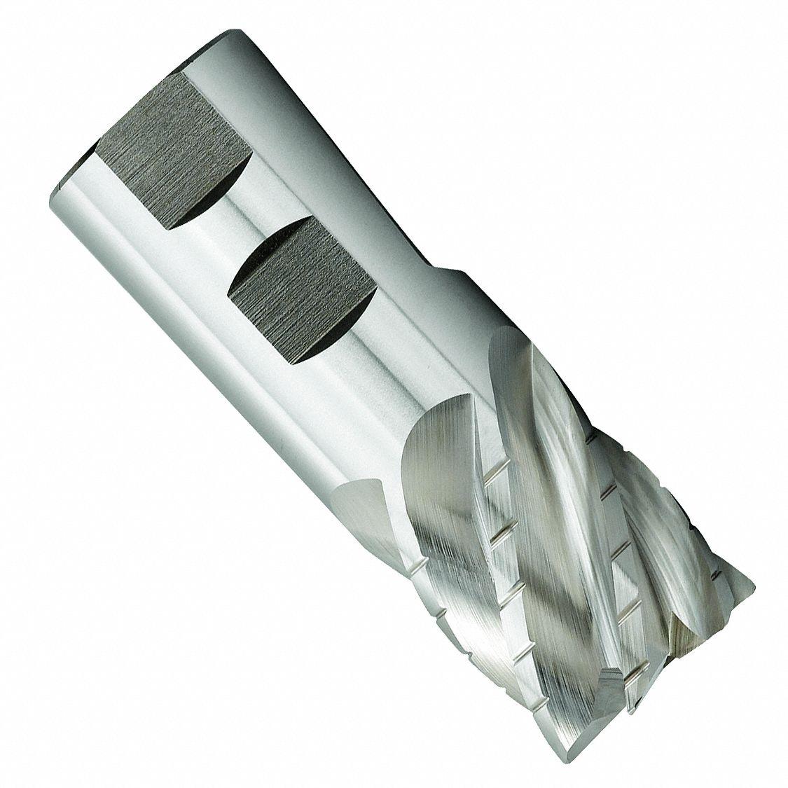 10mm x 10mm x 25mm x 72mm 3 Flute 1.0mm Radius Carbide End Mill-ZrN