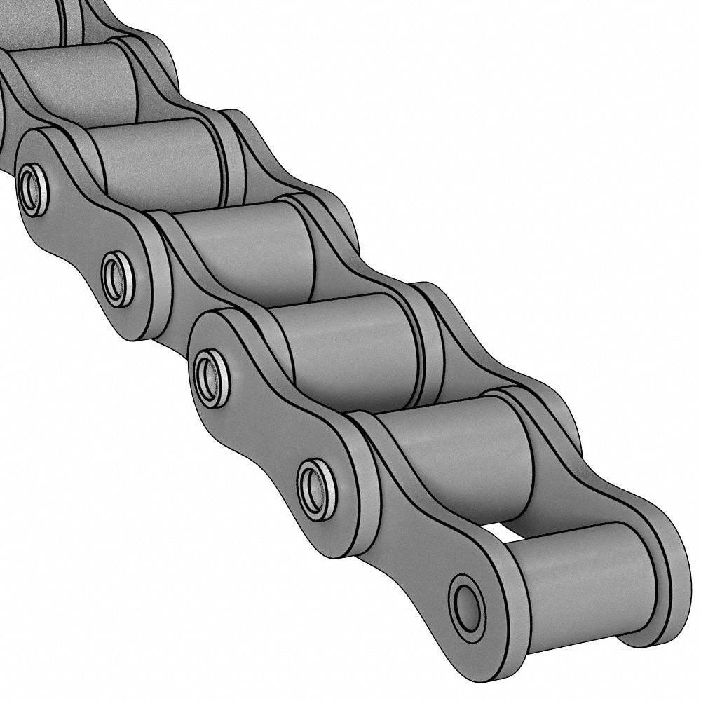 Carbon Steel Material Cottered 1 Strand 10 ft Length Roller Chain CH Series