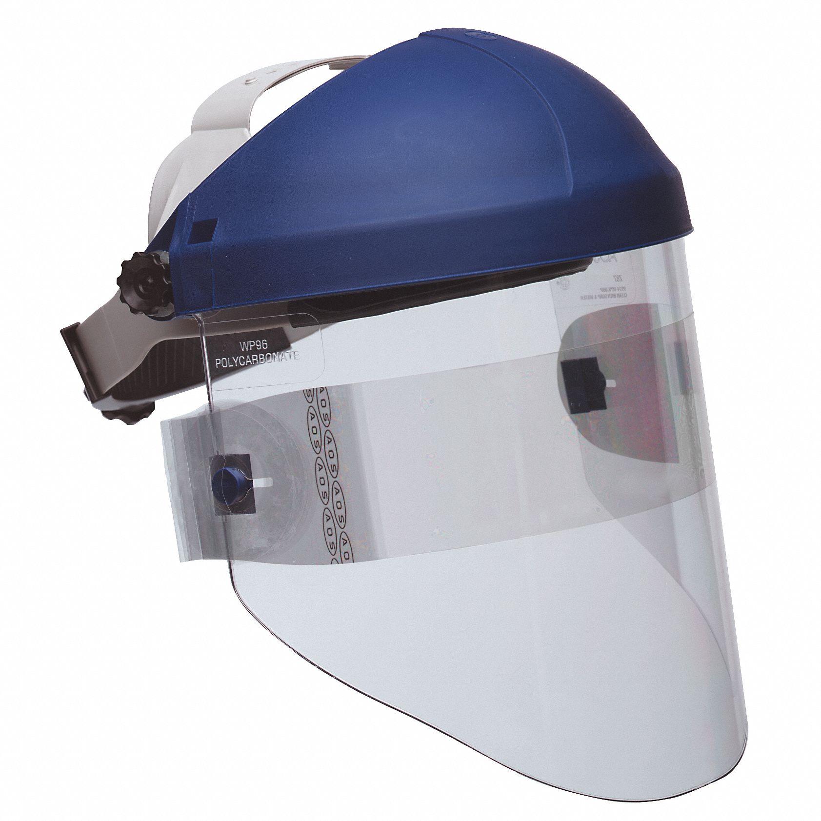 Transparent Welding Full Face Shield Protector Holder For Sparkproof