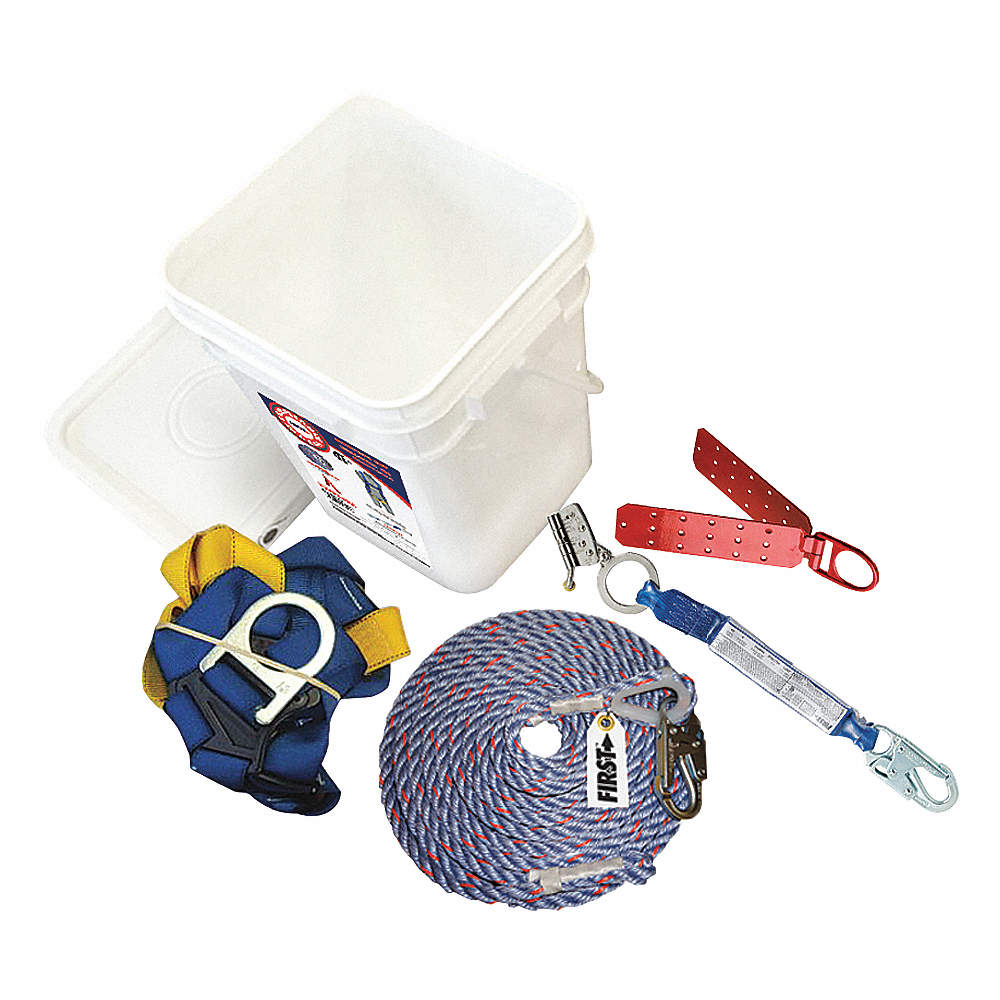 Protecta Roofers Kit First 50ft Csa Fall Protection Kits Roofing Harness