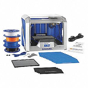 DESKTOP 3D PRINTER KIT,1.8 A,50/60 HZ