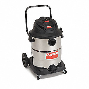 WET/DRY VACUUM CLEANER,16 GAL.,155 CFM