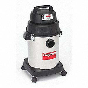 WET/DRY VACUUM CLEANER,6 GAL.,75 CFM