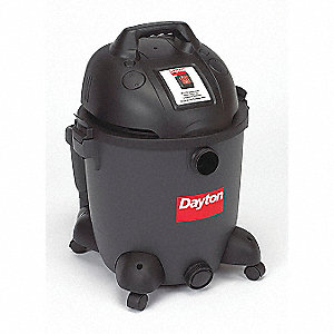 WET/DRY VACUUM CLEANER,12 GAL.,130 CFM