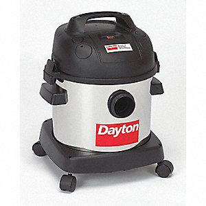 WET/DRY VACUUM CLEANER,4 GAL.,65 CFM