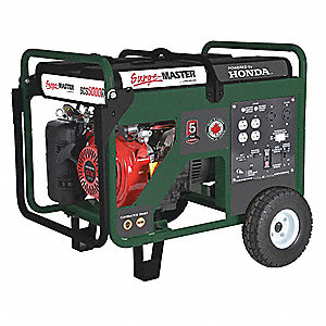 PORTABLE GAS GENERATOR,26 L,9 HP,4550W