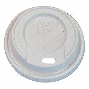 HOT CUP LID,PLASTIC,8 FL. OZ.,1000CA