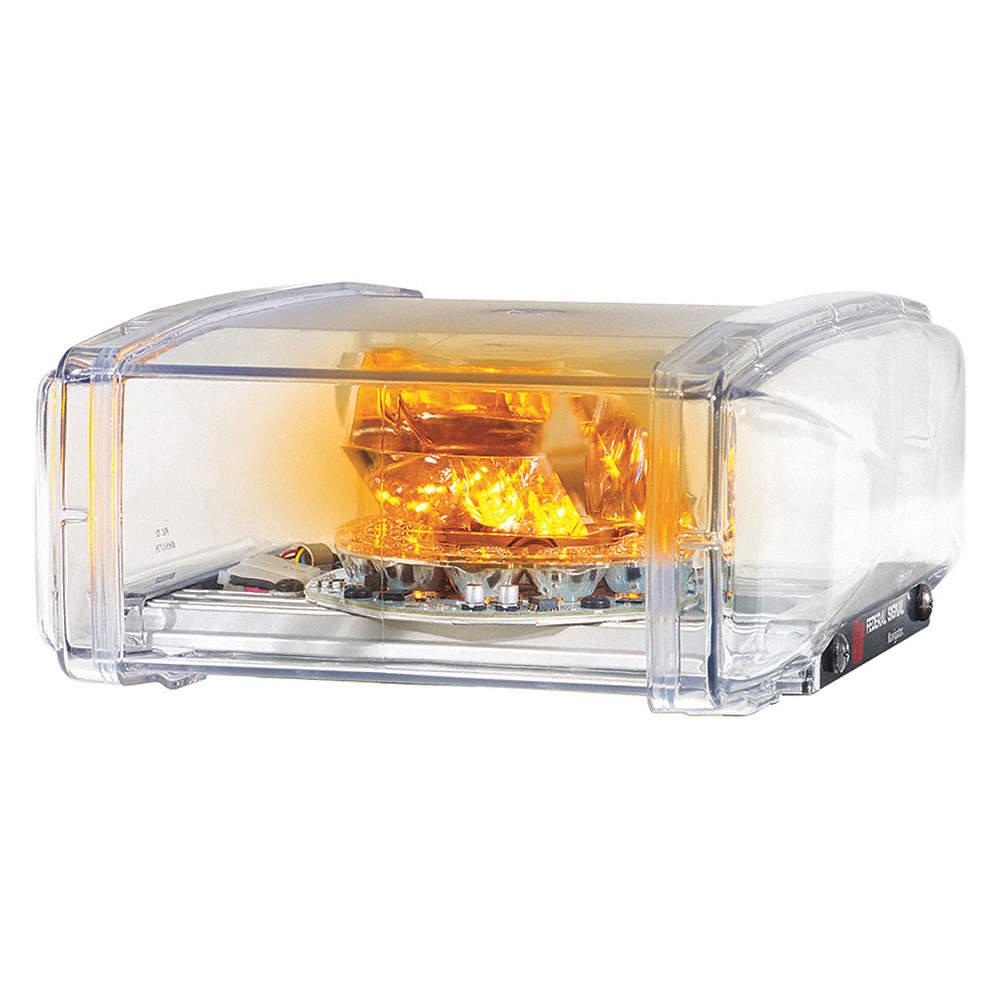 Federal Signal Amber Mini Light Bar
