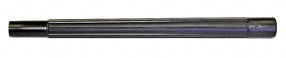 Extension Wands,  For Hose Diameter 1 1/4 in,  Metal,  20 in Length,  1 1/2 in Width