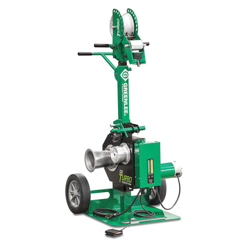 GREENLEE Cable Puller, 6000 lb. Pulling Force - 454N82|G6 - Grainger