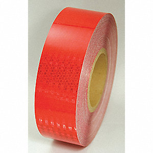 TAPE,RED,150 FT. L X 2 IN. W