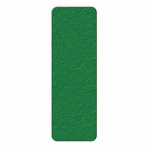 MARKER,GRN,6IN L X 2IN W,RECTANGLE,PK25