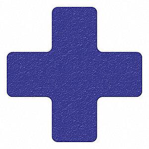 MARKER,BLUE,6IN L X 6IN W,CROSS,PK25