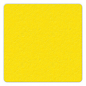 MARKER,YELLOW,6IN L X 6IN W,SQUARE,PK25