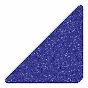 MARKER,BLUE,3IN L X 3IN W,TRIANGLE,PK25