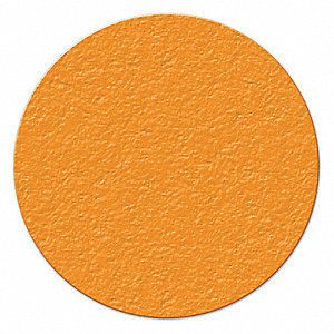 MARKER,ORANGE,3 IN. DIA.,CIRCLE,PK25