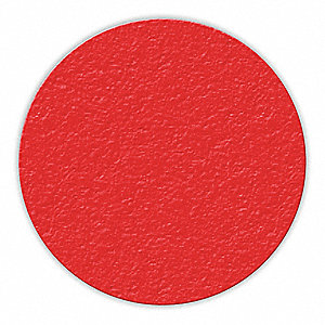 MARKER,RED,3IN DIA.,CIRCLE SHAPE,PK25