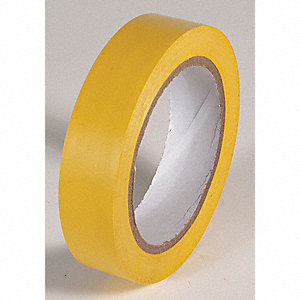 AISLE TAPE,YELLOW,108 FT. L X 1 IN. W