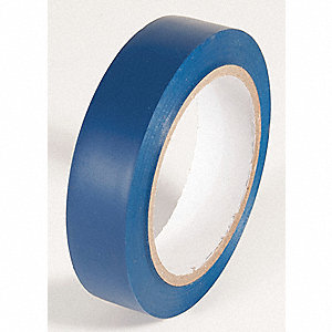 AISLE TAPE,DARK BLUE,108 FT. L X 1 IN. W