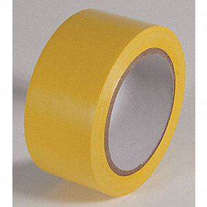 AISLE TAPE,YELLOW,108 FT. L X 2 IN. W