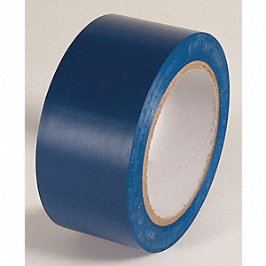 AISLE TAPE,DARK BLUE,108 FT. L X 2 IN. W