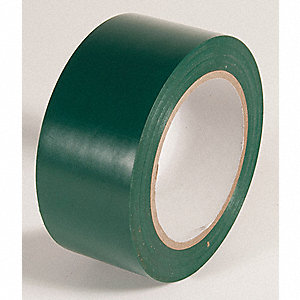 AISLE TAPE,EMERALD GREEN,108FT L X 2IN W