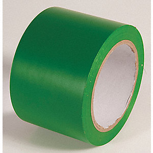 AISLE TAPE,KELLY GREEN,108 FT L X 3 IN W