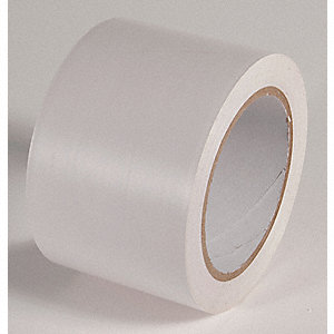 AISLE TAPE,WHITE,108 FT. L X 3 IN. W