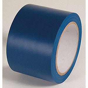 AISLE TAPE,DARK BLUE,108 FT. L X 3 IN. W