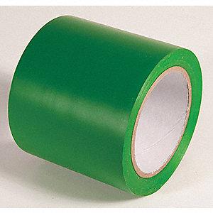 AISLE TAPE,KELLY GREEN,108 FT L X 4 IN W