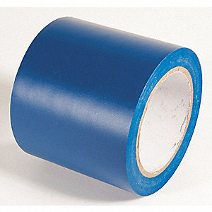 AISLE TAPE,DARK BLUE,108 FT. L X 4 IN. W