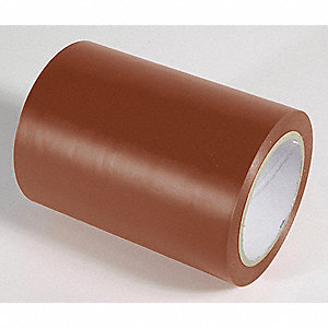 AISLE TAPE,BROWN,108 FT. L X 6 IN. W