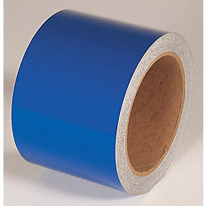 REFLECTIVE TAPE,BLUE,30 FT. L X 3 IN. W