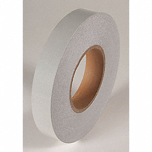 REFLECTIVE TAPE,WHITE,150 FT L X 1 IN W