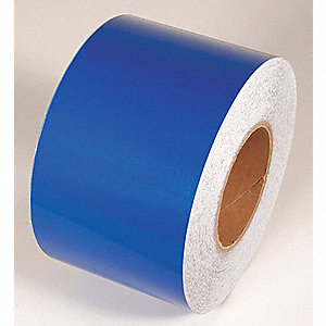 REFLECTIVE TAPE,BLUE,150 FT. L X 4 IN. W