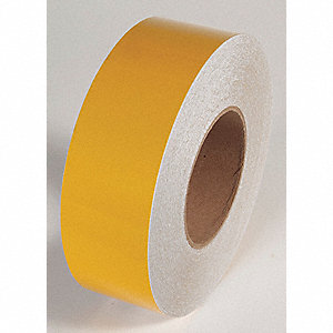REFLECTIVE TAPE,YELLOW,150 FT L X 3 IN W